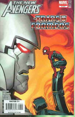 New Avengers Transformers #4 Marvel Comics US Import